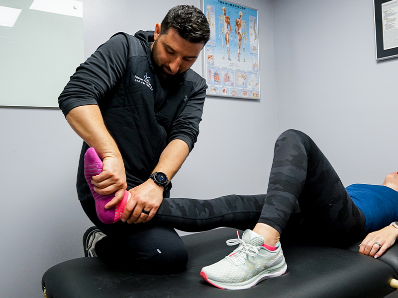 ankle injury Feldman physical therapy or performance