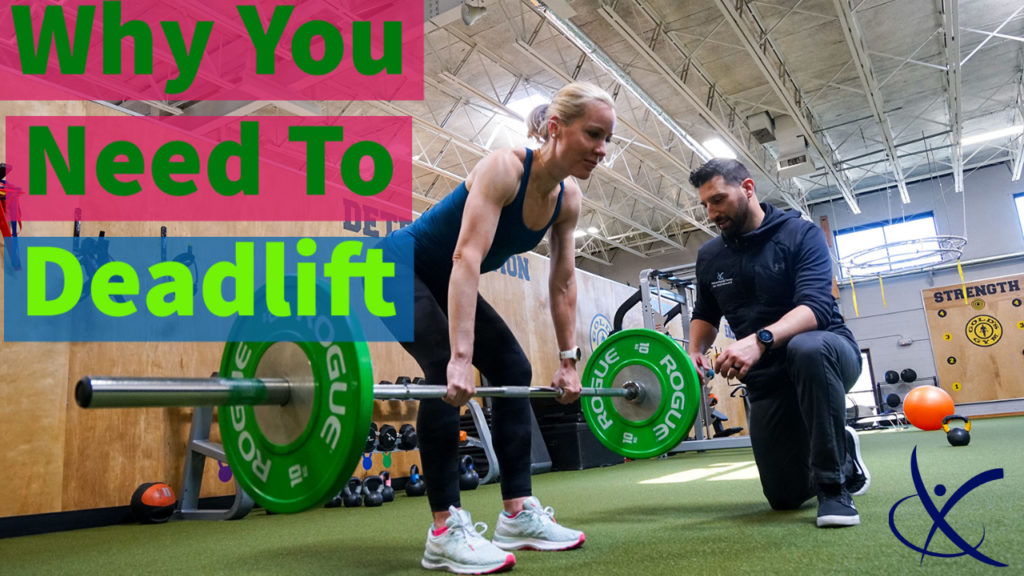 Physical Therapy Deadlift